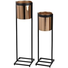 Set of 2 Rory Candle Stands