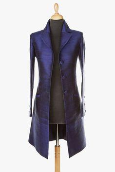 Silk Grace Coat in Midnight Blue https://www.etsy.com/listing/160186103/silk-grace-coat-in-midnight-blue?ref=hp_rv