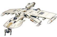 K-wing starfighter