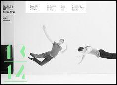CCN Ballet de Lorraine - Site Internet - Les Graphiquants #webdesign
