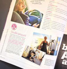 It's me! In Fit magazine / Ninan verkkareissa - Blogi | Lily.fi