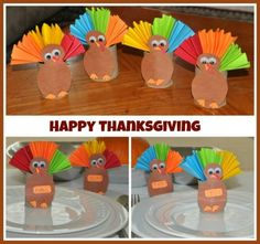 Make a fun craft for thanksgiving with your toddler or preschooler. You can add them to your table decorations and i bet that would make your lil' ones feel so much special !