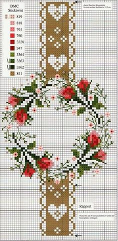X Christmas Embroidery, Plastic Canvas, Advent Calendar, Christmas Crafts, Father Christmas, Crossstitch, Handmade Christmas Crafts, Xmas Crafts, Christmas Tree Crafts
