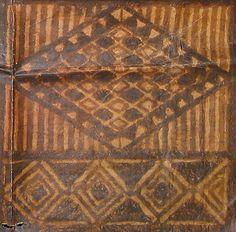 Tapa Cloth Detail, American Samoa