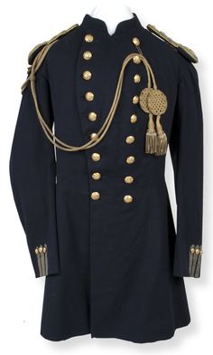 Old Coat inspiration...1870s military jacket from Fort Hays, KS