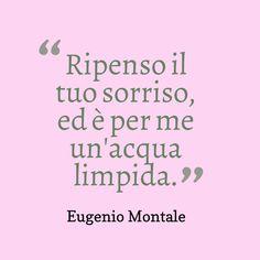 Eugenio Montale #aforismi