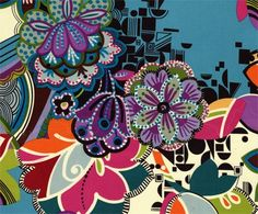 Rivoli Spectacle Alexander Henry Cotton Fabric