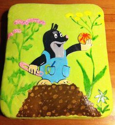 Krteček Cake - Made By Petule How To Make Cake, Snow White, Disney Characters, Fictional Characters, Disney Princess, Snow White Pictures, Sleeping Beauty, Fantasy Characters, Disney Princesses
