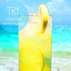 Feeling refreshed after a glass of Internet lemonade from http://www.internet-lemonade.com. #SummerUp