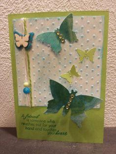 Kort med sommerfugle
