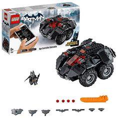 New Batman Lego DC Comics Super Heroes App-Controlled Batmobile Batman Lego Sets, Batman Car, Lego Batman Movie, Batmobile Toy, Lego Dc Comics, Lego Marvel, Construction Lego, Best Lego Sets, Studios