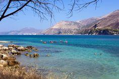 Beautiful sea, Argostoli, Kefalonia, Greece. #beach #LandscapeForWalls Greece Islands, Lassi, Landscapes, Destinations, River, Sea, Weddings, Summer, Pictures