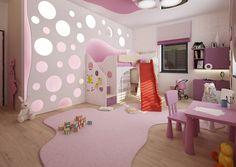 Viva bydlení   Dětský pokoj v růžové – sladké i moderní zároveň