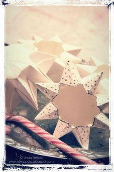 DIY Origami paper star lanterns