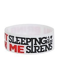 HOTTOPIC.COM - Sleeping With Sirens Beast In Me Rubber Bracelet