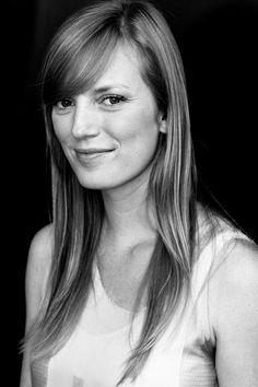 Sarah Polley in black and white.  I adore her smile.