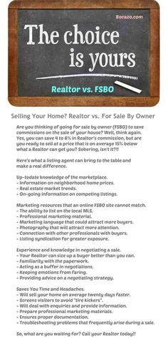 Listing FSBO vs a Realtor - Here's what a listing agent can bring to the table and make a real difference. #fsbo #realtor