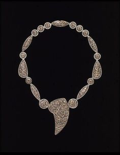 Necklace | Mina, Jacqueline | V&A Search the Collections