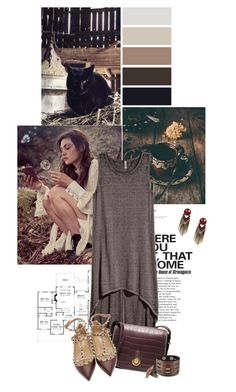 """""""Welcome Autumn"""" by somatramoroi ❤ liked on Polyvore featuring H&M, Stuart Weitzman, Nemesis and Valentino"""