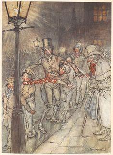 A Christmas Carol illustrated by Arthur Rackham, 1915 - The British Library