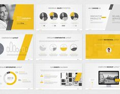 """다음 @Behance 프로젝트 확인: """"Powerpoint Template"""" https://www.behance.net/gallery/16703305/Powerpoint-Template"""