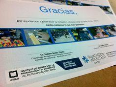 Parte de los últimos trabajos: diseño e impresión de diplomas institucionales para el Voluntariado Universitario de la UNSAM