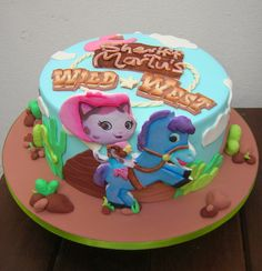 SWEET! cupcakes: Sheriff Callie para Martu
