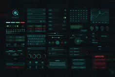 Orbit SciFi UI Kit by Nice To Must Have on Behance