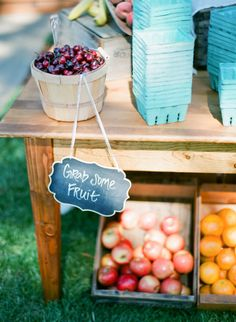 Fruit.     Style Me Pretty | Gallery | Picture | #884947