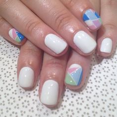 @mikutsutaya #gelnail #handpainted #nailart #vanityprojects  (at Vanity Projects)