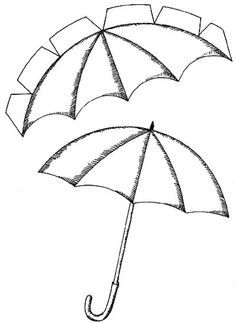 use with rain resist painting with Cali playing in the rain, use this for the umbrella to bring a 3d element to the picture: