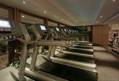 Grand Hyatt Seoul Fitness Facilities - Treadmill #grandhyattseoul #grandhyattseoulgym