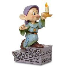 Jim shore dopey with a candlestick