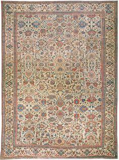Persian rugs: Persian rug (antique) rug, oriental rug, oriental pattern for modern, elegant interior decor, rug in living room #rug #persianrug
