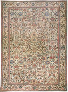Persian rugs: Persian rug (antique) rug, oriental rug, oriental pattern for modern, elegant interior decor, rug in living room #rug #persianrug