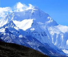 so here it is - from this side still Quomolangma (Tibetan name)