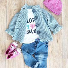 WEBSTA @ svet_dream - Наконец-то дошли руки поснимать это пальто-кардиган  Ещё один look частично от #st_knitwear  для моей крошки возможно прозвучит не скромно, но вышло очень круто!!! #knitting_inspire #knittersofinstagram #knitting_inspiration #knitting_is_love #i_loveknitting #handmade_knitwear #вязание #ручнаяработа