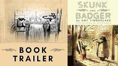 Jon Klassen, Odd Couples, Book Trailers, Badger