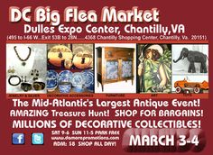 Big Flea Market, love to search for trinkets and treasure!  So much is on line these days, but I love to see the stuff in person.  Great way to spend the day.