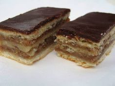 A zserbó titka, amit sok háziasszony nem ismer! Hungarian Desserts, Hungarian Recipes, Zserbo Recipe, Cookie Desserts, Dessert Recipes, Delicious Desserts, Yummy Food, Baking And Pastry, Pastries