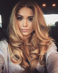 caramel haarfarbe karamell hell blond lange haare honig frisuren in 2018 pinterest caramel. Black Bedroom Furniture Sets. Home Design Ideas