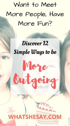 If you're a bit shy or something of an introvert, if you have difficulty being more talkative, fun to be around, more social or well spoken, you can learn how to be more outgoing and confident in social situations by checking out our twelve helpful tips. World On Fire, Self Development, Personal Development, Make New Friends, Learning To Be, How To Become, How To Make, Self Confidence, Marriage Advice