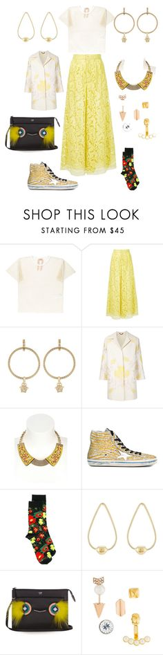 """Just Do It"" by ramakumari ❤ liked on Polyvore featuring ADAM, Versace, Etro, MRS DESIGN, Golden Goose, STELLA McCARTNEY, Jennifer Fisher, Fendi, Rebecca Minkoff and Summer"