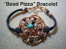 Instant download! Bead Pizza Bracelet Pattern