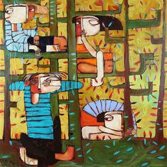 Manyung Gallery Group Janine  Daddo Hide And Go Seek