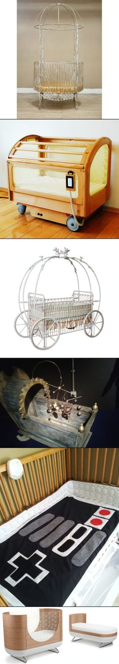 6 Awesomely Unique Baby Cribs