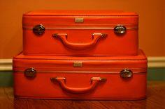 Vintage Amelia Earhart Suitcases