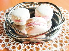 Macarons with Pink Buttercream