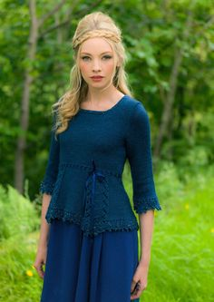 Harmony knitting pattern book by Louisa Harding creates 7 new woodland inspired hand knitted garments for you to try. Beautiful lacework features strongly in all the garments, and stunning textures are created by a yarn that drapes the body perfectly. Louisa Harding, Christmas Knitting Patterns, Dress Gloves, Yarn Brands, Pulls, Knitwear, Knit Crochet, Clothes For Women, Couture