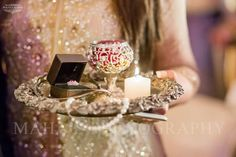 New wedding ideas indian candles 35 ideas Engagement Ring Platter, Engagement Box, Engagement Dresses, Desi Wedding, Wedding Bride, Wedding Gifts, Wedding Favours, Wedding Events, Engagement Decorations
